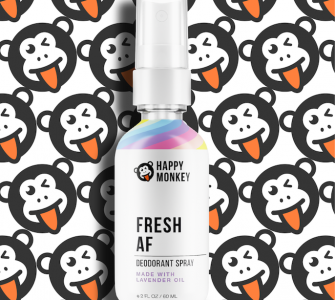 Happy Monkey Deodorant
